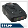 Whistler XTR-145 Radar Detector – Total Band Protection, 12 Volts, Tone Alerts, Icon Display $44.99