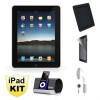 Apple iPad 16GB 3G KIT -Includes Refurbished iPad + Screen Protectors + Case + Headphones + iHome Speaker – $449.99