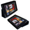 Kindle Fire Premium Black Polyurethane Leather Case with Viewing Stand – $9.89