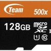 Team 128GB microSDXC UHS-I/U1 Class 10 Memory Card with Adapter, Speed Up to 80MB/s (TUSDX128GUHS03) for $16.99