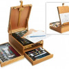Art 101 97-Piece Sketch Box Easel for $49.99