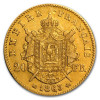 1852-1870 France 20 Francs Gold Napoleon III Coin – EF/AU
