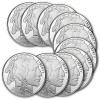 1 oz Silver Buffalo Round .999 Fine (Lot of 10) for $223.50