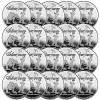 SilverTowne Trademark Logo 1oz .999 Fine Silver Rounds by SilverTowne LOT OF 20 for $385.99