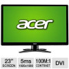 Acer 23″ Class LED Widescreen Monitor for $109.99