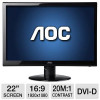 AOC 22″ Class Widescreen LED Monitor for $89.99