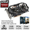 GIGABYTE Radeon R9 270 2GB GDDR5 Video Card – PCI-Express 3.0 (x16), Overclocked with 2 FREE Games up to $100 value afte…