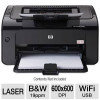 HP LaserJet Pro P1102W WiFi Mono Printer for $72.99