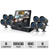Night Owl 8 Channel 8 Camera 500GB HDD Security System for $399.99