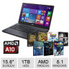 Acer Aspire E5-551-T374 Notebook PC & Choose A Free Game w/ Purchase for $399.99