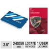 OCZ ARC 100 SERIES 240GB Internal Solid State Drive with McAfee Multi-Access 1 User 5 Devices 1yr License Bundle for $11…