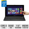Asus 11.6″ Touch Notebook – Intel Core i3,1.7GHz, 4GB RAM 500GB HDD,1366 x 768 Windows 8 64-Bit for $459.99