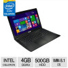 ASUS Intel Celeron 4GB Memory 500GB HDD 15.6″ Notebook Windows 8.1 64-bit for $369.99