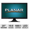 Planar 20″ LCD monitor for $69.99