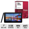 Azpen A728 7″ Dual Core Tablet and McAFee Multi-Access 1 User 5 Devices Bundle for $19.99