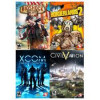 2K AAA Pack (BioShock Infinite + Borderlands 2 + Enemy Unknown + Civ V) [Online Game Code] for $19.79