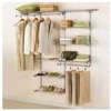 Rubbermaid 3to6′ Deluxe Custom Closet Kit $44.99 (50%off) @ Menards BM YMMV 40.04w/rebate