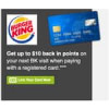 Deal is Back: $10 or $12 in SYWR points at Burger King