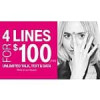 T-mobile offering 2.5GB/line for 4 lines for $100 total