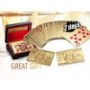 Five Star Inc 24K Gold Foil Plated Poker Playing Cards Deck Collection = $6.59+FS @NeweggFlash (exp. in 2 days)