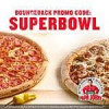 Papa John's Free Pizza (25 papa reward points) with $15 online order from 1/29 – 2/1