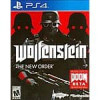 Wolfenstein : The New Order Ps4 and XBOX One used $12.99 plus shipping