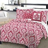 KOHLS : One Home Marchaline 4-pc. Comforter Set – XL Twin(PINK) $11.89 After coupons +shipping