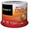 50-Pack Sony 4.7GB 16X Recordable Storage DVD-R Discs $5.99 + Free Shipping
