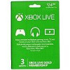 Microsoft Xbox Live 3 Month Gold Card – $12.49