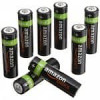 AmazonBasics AA NiMH Precharged Rechargeable Batteries-8-Pack, 2000 mAh $10.99