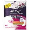 44 Count Always Discreet, Incontinence Liners, Very Light, Long Length – $1.65 Free Ship Amazon S&S