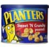 Planters Sweet N' Crunchy Peanuts, 10-Ounce Canisters (Pack of 6) $12.43 or lower (subscribe & save)