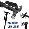 Anti-Shock Telescoping Walking Stick w/ 9 LED Light and Compass – One for $10 or Three for $24! – (Free Shipping)