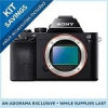 Sony a7 24.3MP Full-Frame Interchangeable Lens Camera (Body) + $50 Adorama Credit + Case + 32GB SD Card + 3 Yr Service P…