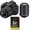 Nikon D3200 Digital SLR Camera w/18-55mm & 55-200 VR (Refurbished) + Adobe Lightroom 5 $400 + Free Shipping! (eBay Daily…