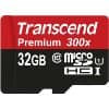 Transcend 32GB MicroSDHC Class10 UHS-1 Memory Card with Adapter 45 MB/s – $13.95 @ Amazon