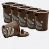6-Pack of Reusable Single Cup Coffee Pods w/ Measuring Spoon $7.79 with free shipping