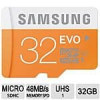 Samsung EVO Class 10 UHS-1 Memory Cards: 64GB microSDXC Card w/ Adapter $29.99, 32GB microSDHC Card w/ Adapter $14.99 *B…