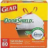 80-Ct Glad OdorShield Tall Kitchen Drawstring Trash Bags $9.99 w/ Free Store Pickup (Free Shiping for Reward Members) St…