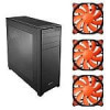 Corsair Obsidian 750D Computer Case and 3-Pack of 120mm Cougar Vortex PWM Orange Case Fans Bundle – $99.99 AR (or less) …