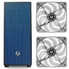 BitFenix Neos ATX Black/Blue Computer Case and 2-Pack of Bitfenix Spectre 120mm White LED Case Fans Bundle – $49.99 AR (…