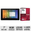 Ematic Genesis 2 7″ Android 4.0 Tablet w/ McAfee Multi-Access Security Software – $9.99 AR (or less) + S&H @ TigerDirect…