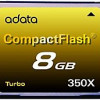 Adata ACF8G350XC Turbo 8 GB Compact Flash Card – 52 MBps Read – 47 for $24.97