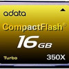 Adata Turbo ACF16G350XC 16 GB 350X CompactFlash Card – 52 MBps Read – for $39.97