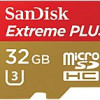 SanDisk 32 GB Micro SD Card Extreme PLUS Flash Memory Card – Class 10 for $12.97
