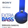 Sony XB650BT Extra Bass Bluetooth Headphones – Stereo – Blue – for $59.97