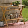 Simple Potting Bench and Console Table for $64.99