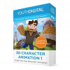 Youth Digital 3D Character Animation for $59.99