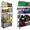 SafeRacks Wire Shelving Storage Units for $48.99