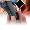 TOCCs Solar-Powered 1,500mAh Power Bank Keychain w/ Built-In Flashlight! Free Shipping! for $14.99